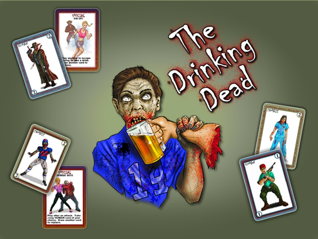 The Drinking Dead - Drinking Card Game's video poster
