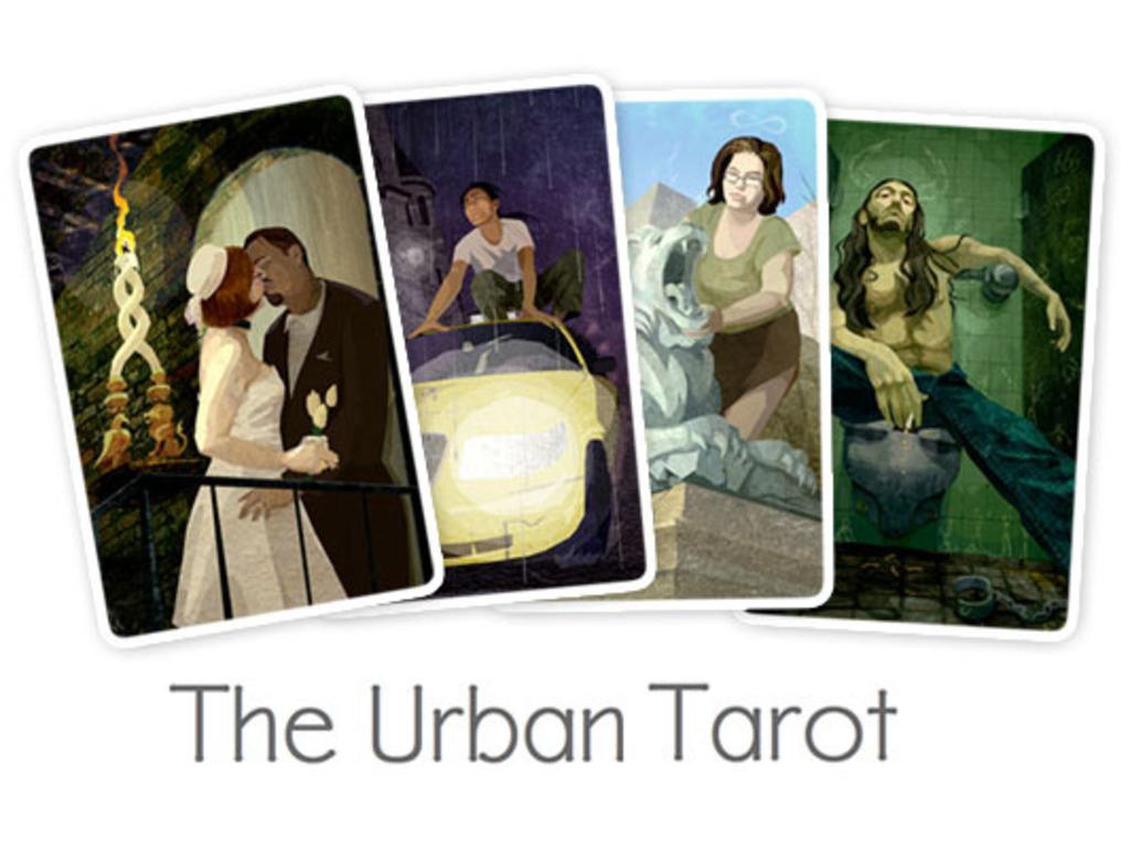 The Urban Tarot Deck's video poster
