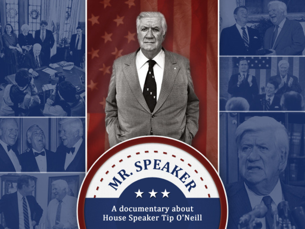 MR. SPEAKER - A documentary about House Speaker Tip O'Neill's video poster