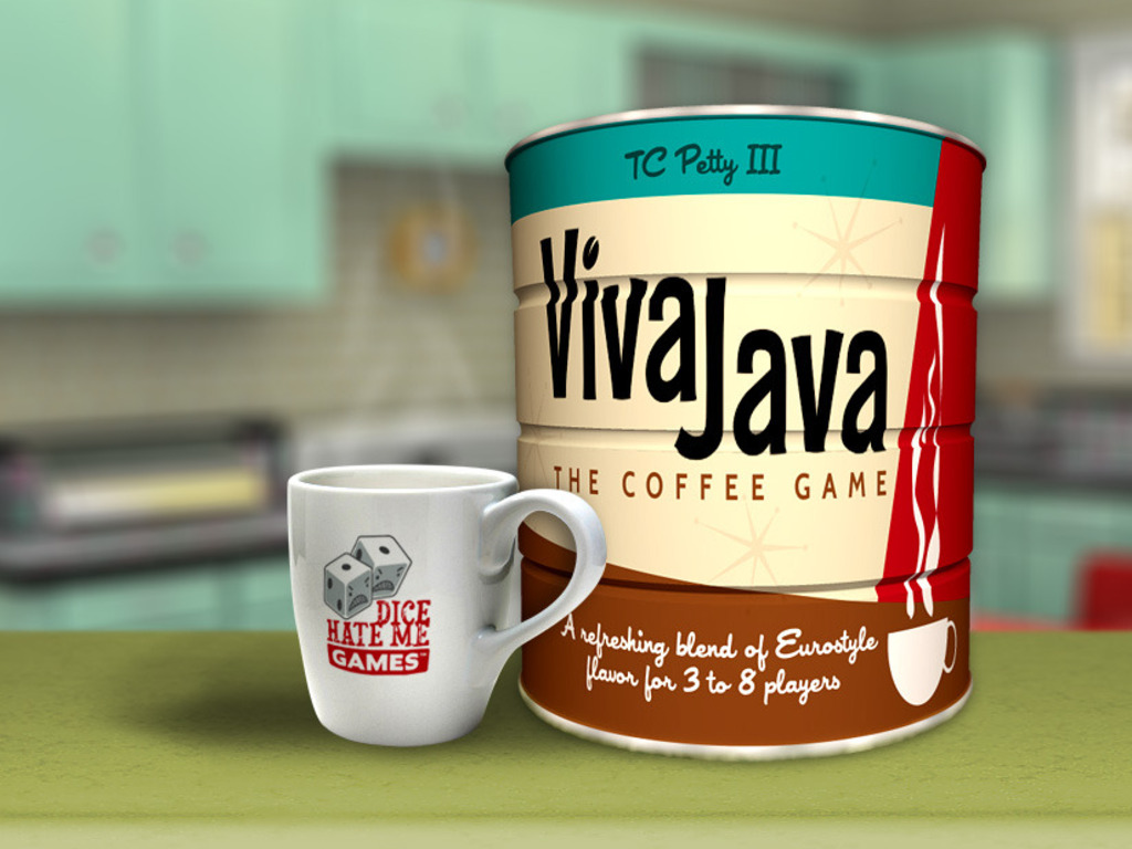 VivaJava: The Coffee Game's video poster