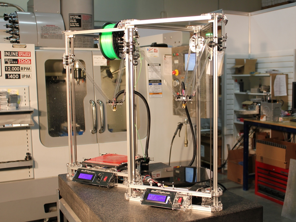 Kossel Clear - Let's build a full sized delta 3D printer!'s video poster
