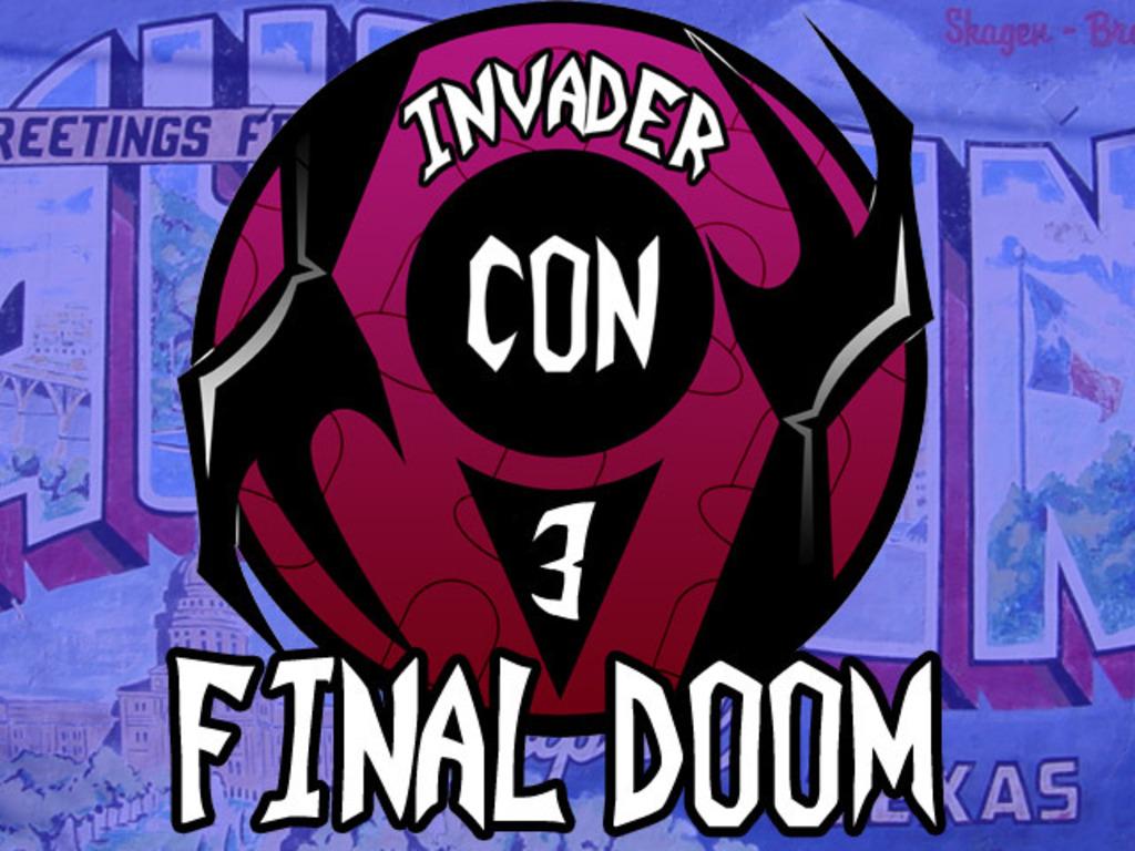 InvaderCON III: FINAL DOOM in Austin, Texas's video poster
