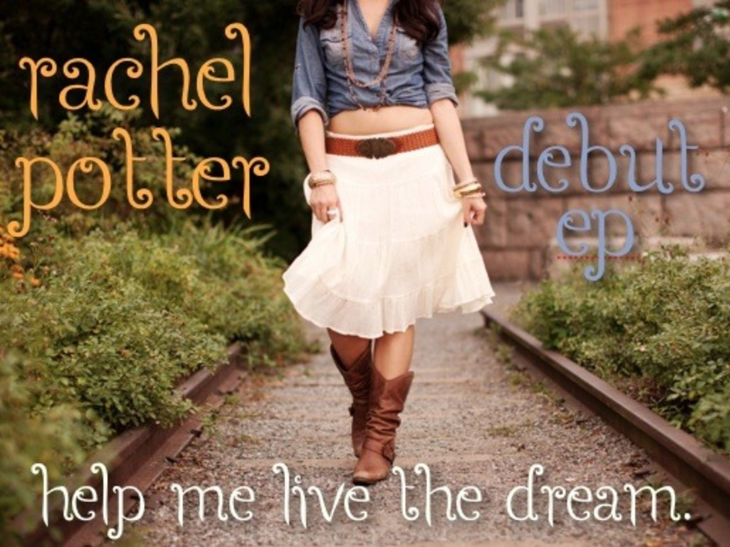 Rachel Potter Debut EP - Help me Live the Dream's video poster