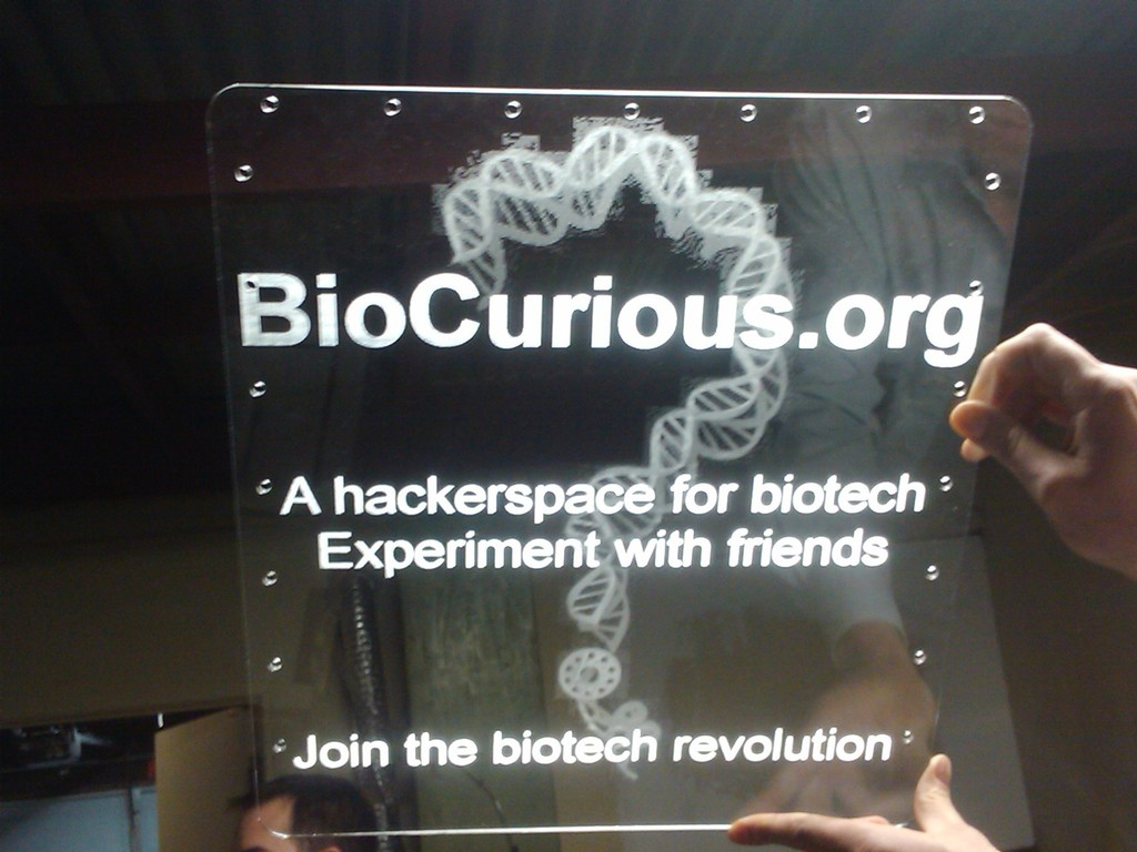 BioCurious: A Hackerspace for Biotech.  The Community Lab for Citizen Science's video poster