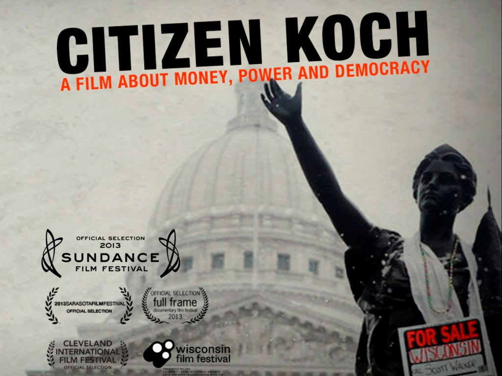 CITIZEN KOCH's video poster