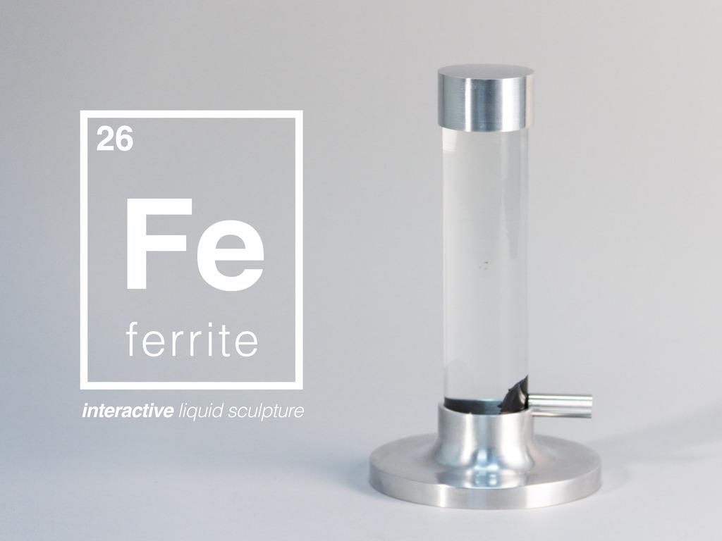 Ferrite - Interactive Liquid Sculpture's video poster