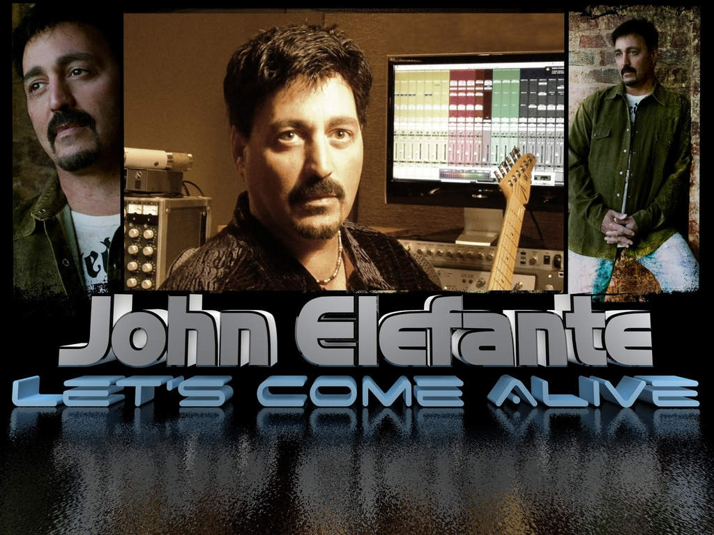 "John Elefante ""Come Alive"" A Kickstarter Project's video poster"