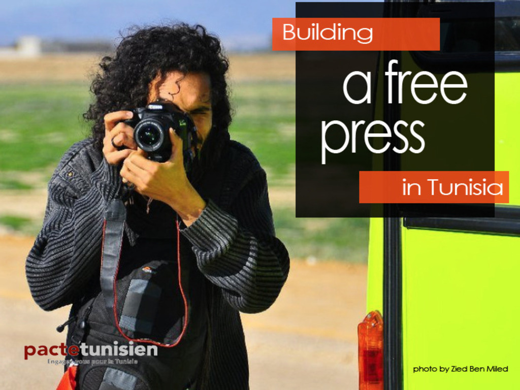 Speak Out Tunisia: A Citizen Journalism Training Project's video poster