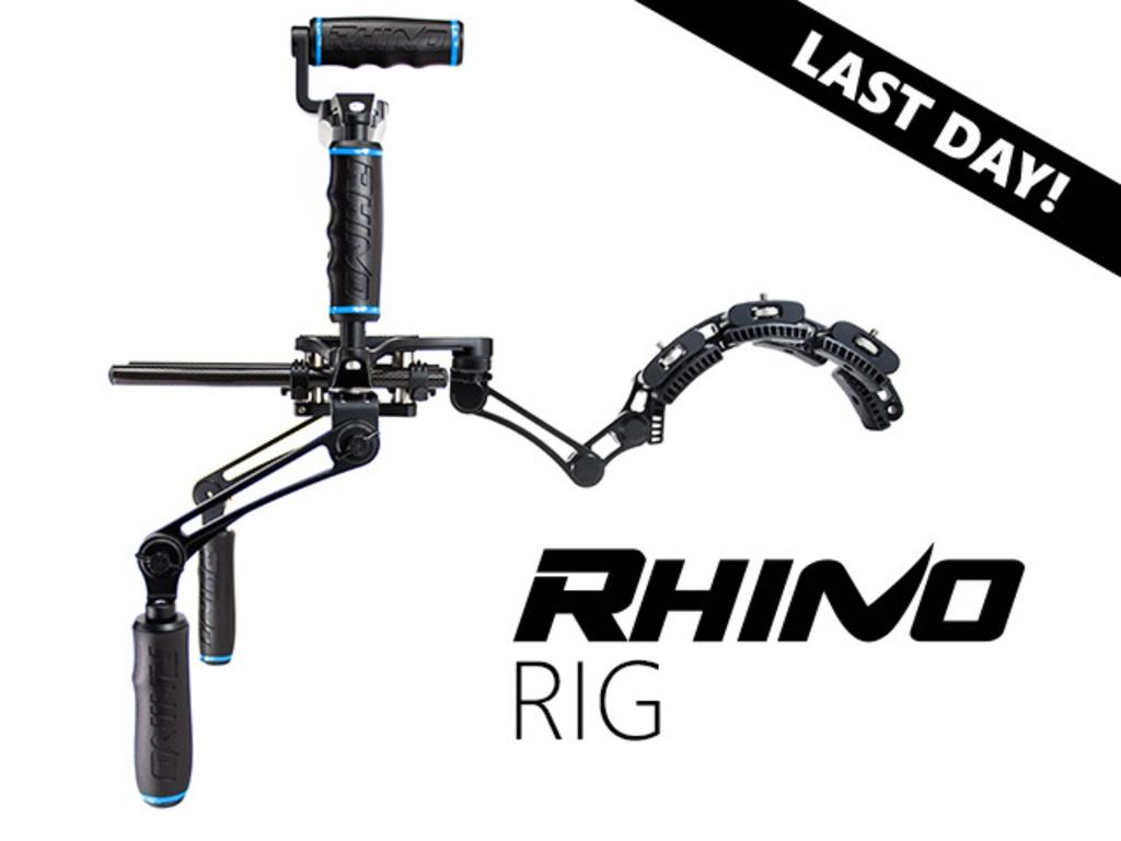 Rhino Shoulder Rig for DSLR, BMCC, RED Epic & GoPro Cameras's video poster