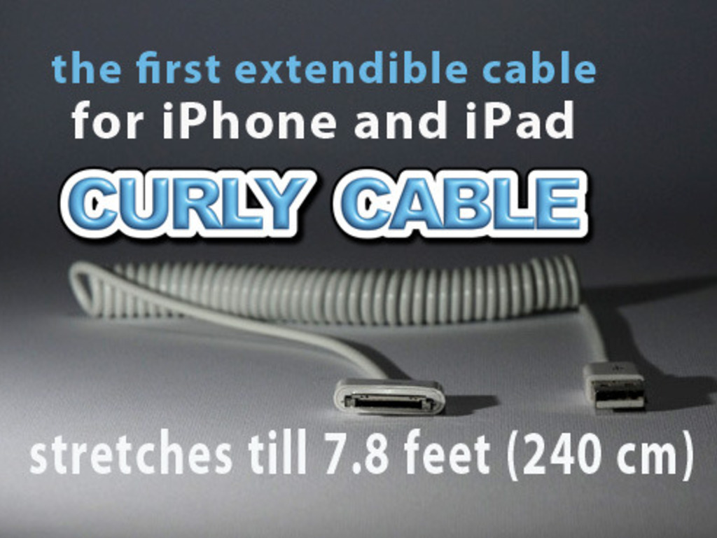 Curly Cable for iPad and iPhone's video poster