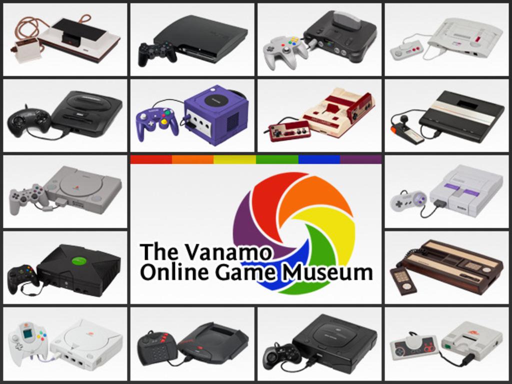 The Vanamo Online Game Museum's video poster