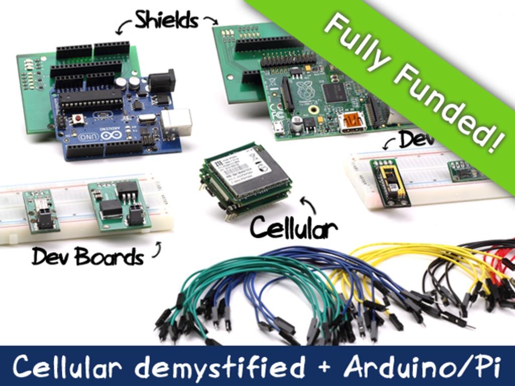 SparqEE CELLv1.0: Cellular made easy (Arduino/Pi/+)'s video poster