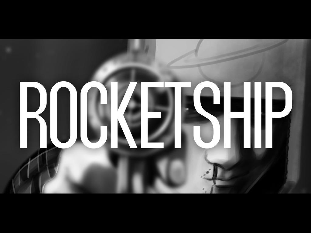 Rocketship's video poster