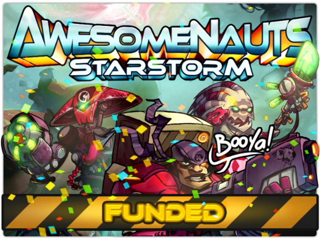 Awesomenauts: Starstorm's video poster