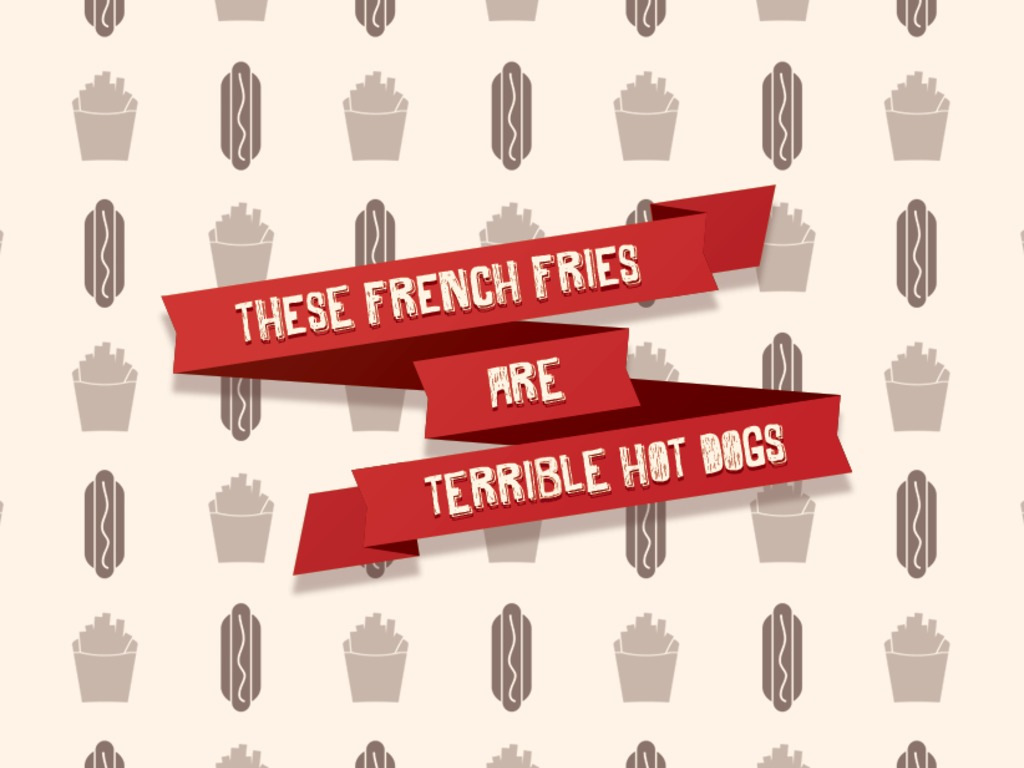 These French Fries Are Terrible Hot Dogs's video poster