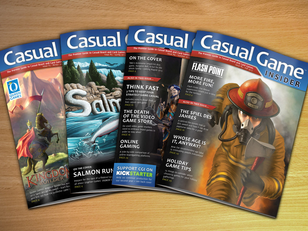 Casual Game Insider Magazine (Year 2)'s video poster