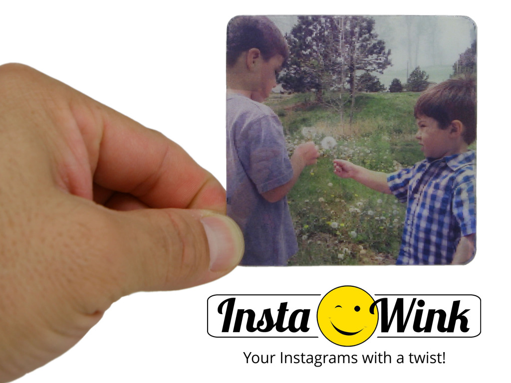 Instawink: Your Instagrams with a twist!'s video poster