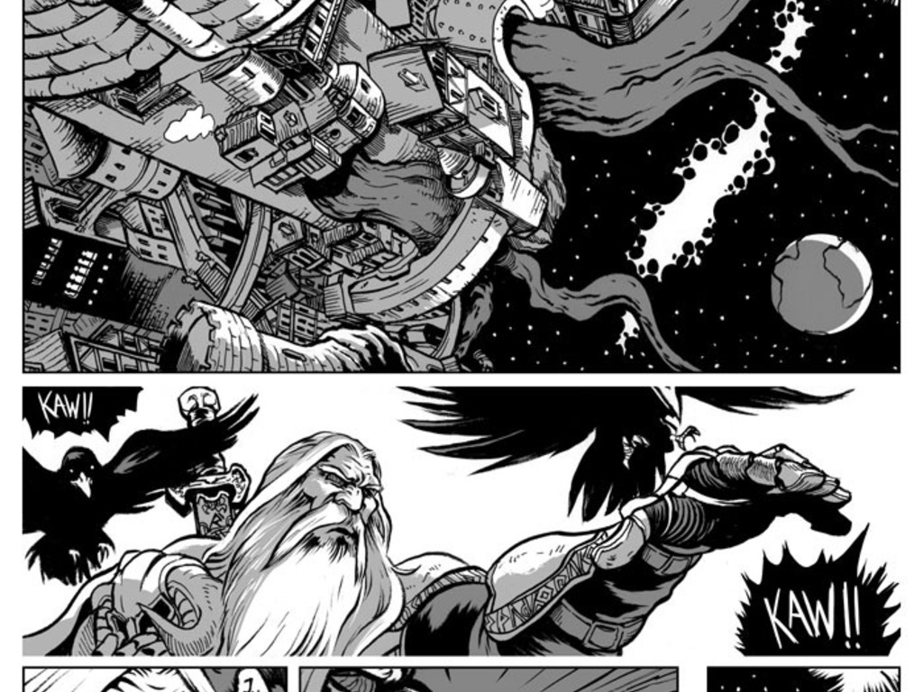 Thor: Unkillable Thunder Christ's video poster
