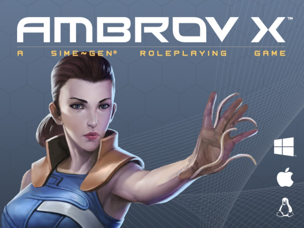 AMBROV X: A Story-Driven, Science Fiction RPG (Canceled)'s video poster
