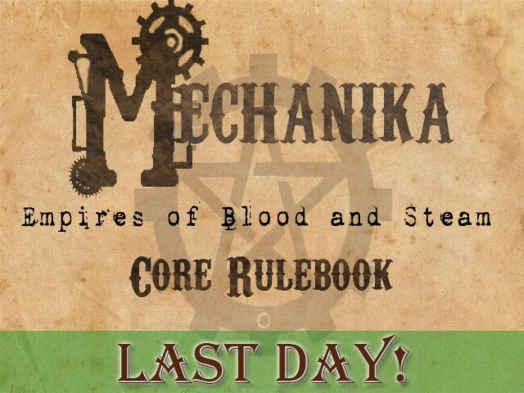 Mechanika: Empires of Blood and Steam core rulebook's video poster