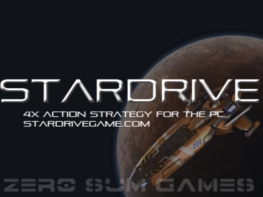 StarDrive -- a 4x Action Strategy Game for the PC's video poster