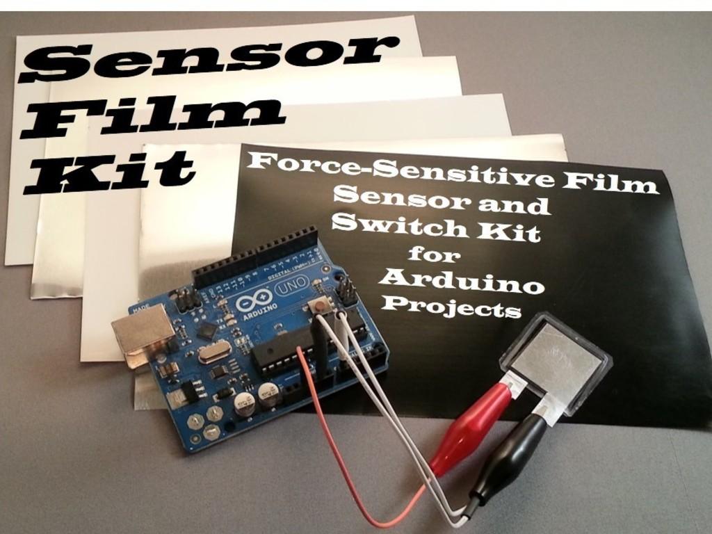 Sensor Film Kit - Custom Force Sensors and Switches's video poster