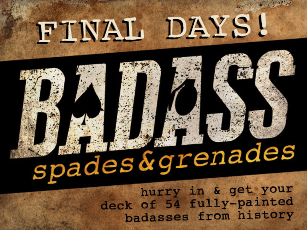 BADASS: Spades & Grenades - Playing Cards with Balls's video poster