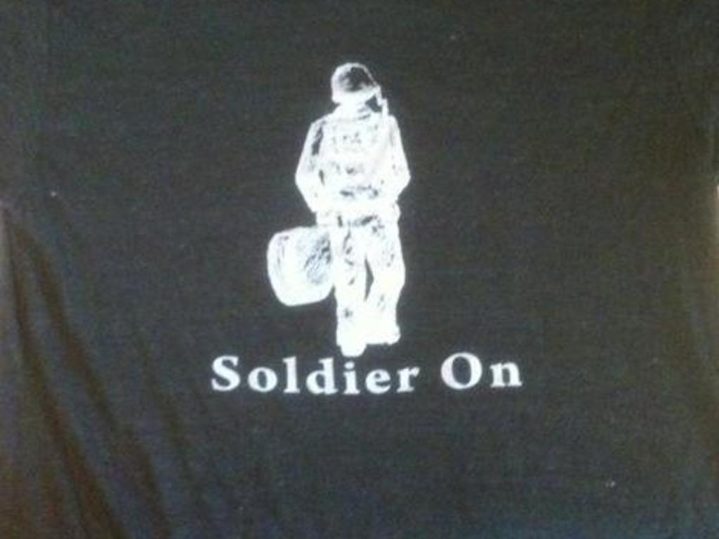 Soldier On Wants You! - to help make a record's video poster