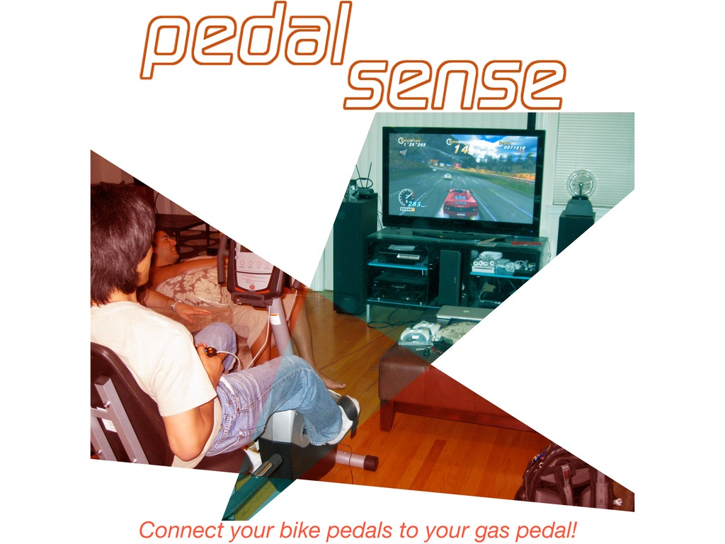 pedalsense - a gadget to turn your exercise bike into a video game controller (Canceled)'s video poster