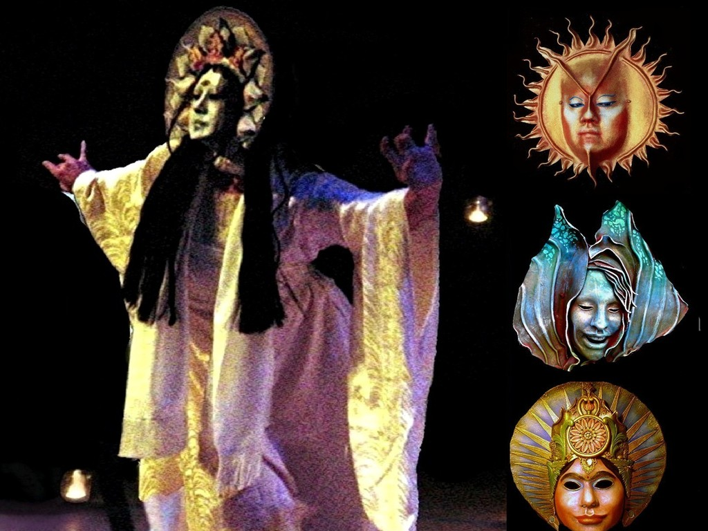 THE MASKS OF THE GODDESS - Mythic Masks & Theatre's video poster