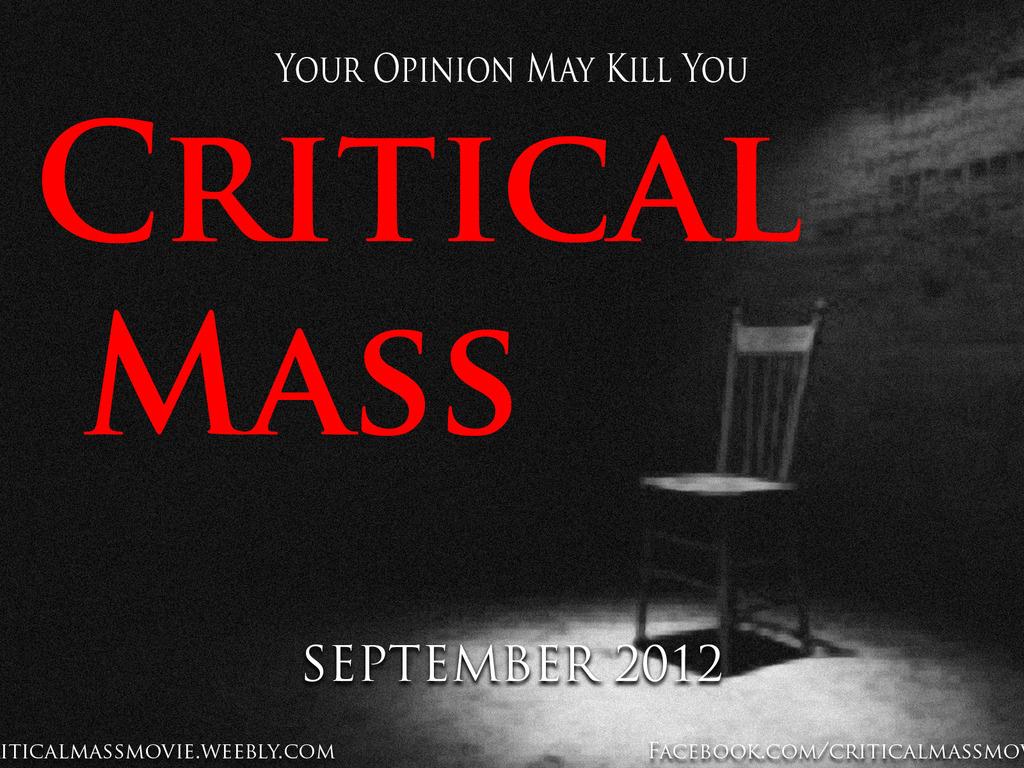 Critical Mass's video poster