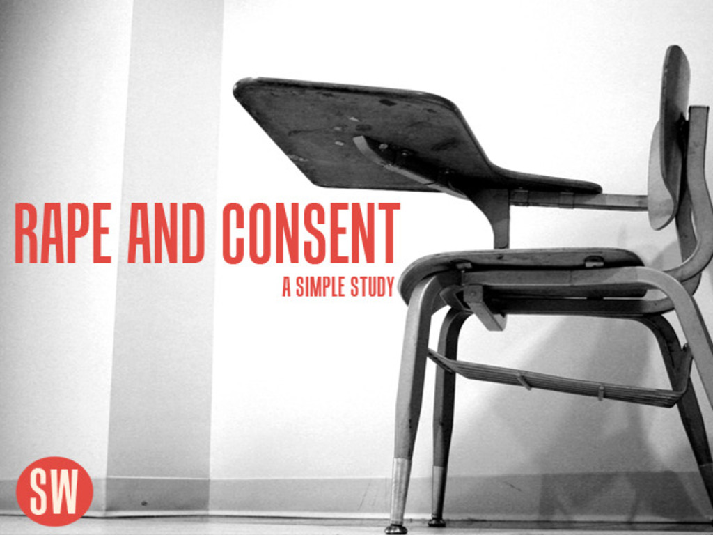 Rape and Consent: A Simple Study's video poster