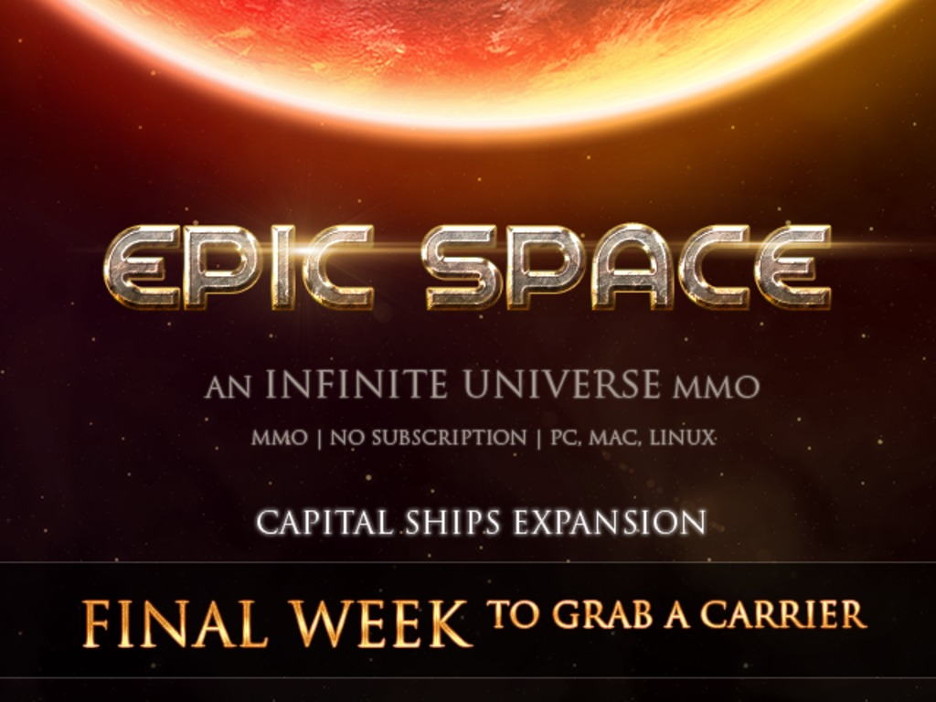 Expansion: Capital Ships/Crews in Epic Space Online's video poster