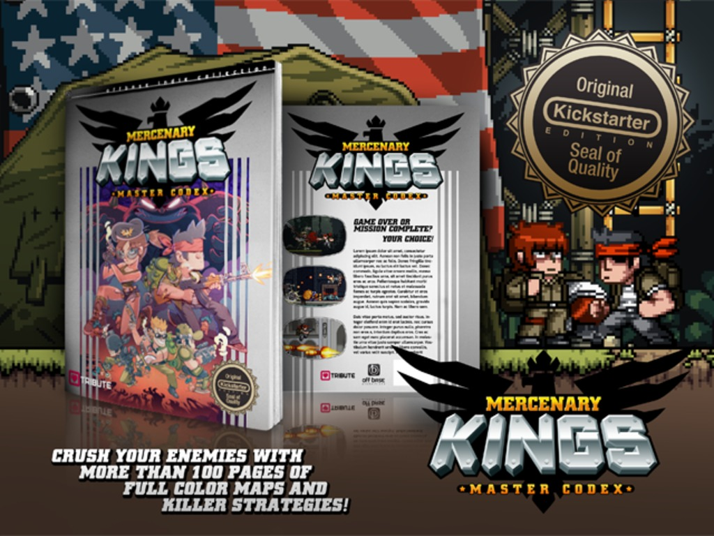 Off Base Strategy Guides Vol 1: Mercenary Kings Master Codex's video poster