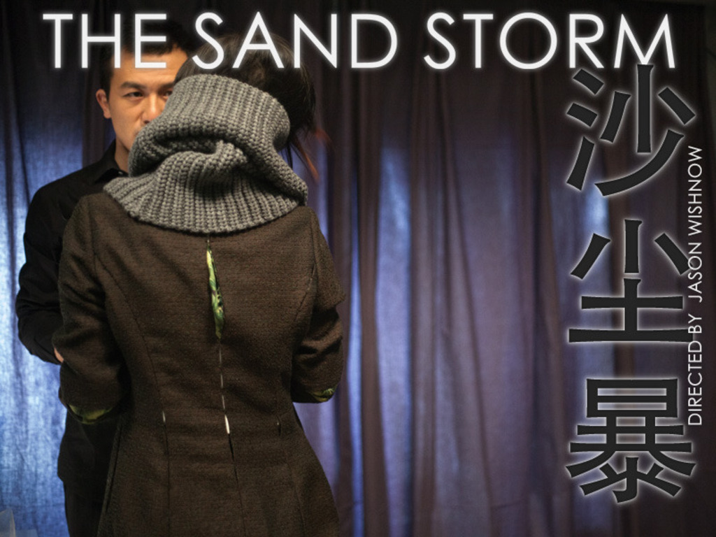 a secret sci-fi film shot in china • THE SAND STORM (沙尘暴)'s video poster