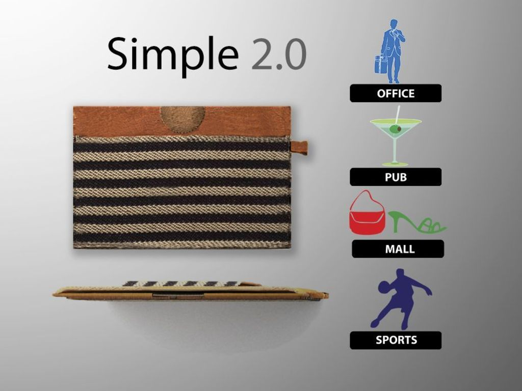 Simple Wallet 2.0 - The Leather Wallet Redesigned's video poster