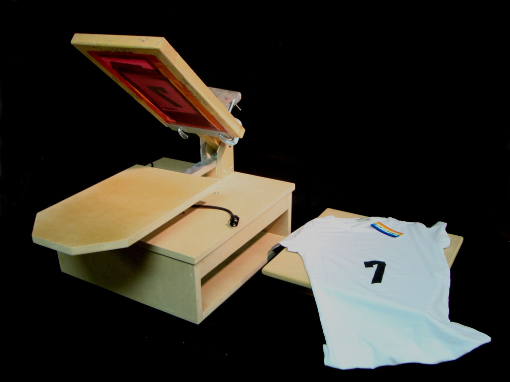 DIY T-shirt Heat Press and Screen Printer using a griddle!'s video poster