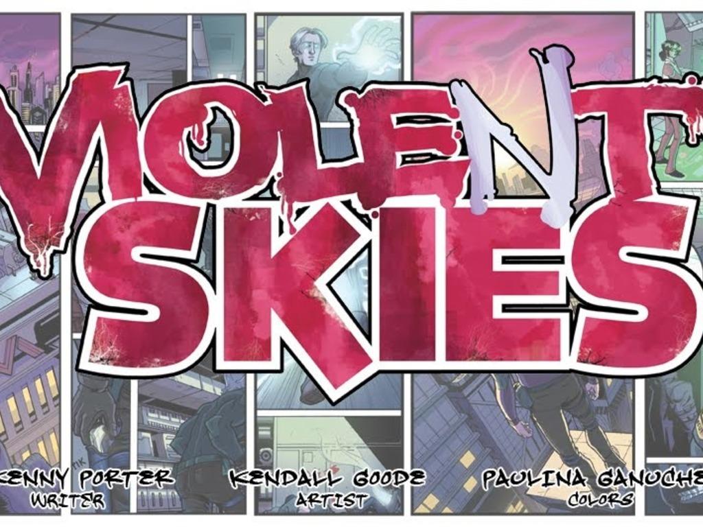Violent Skies #1's video poster