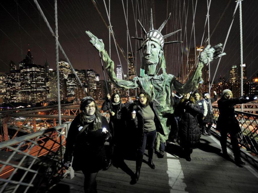 OWS Puppetry Guild:  Occupy the Holidays's video poster
