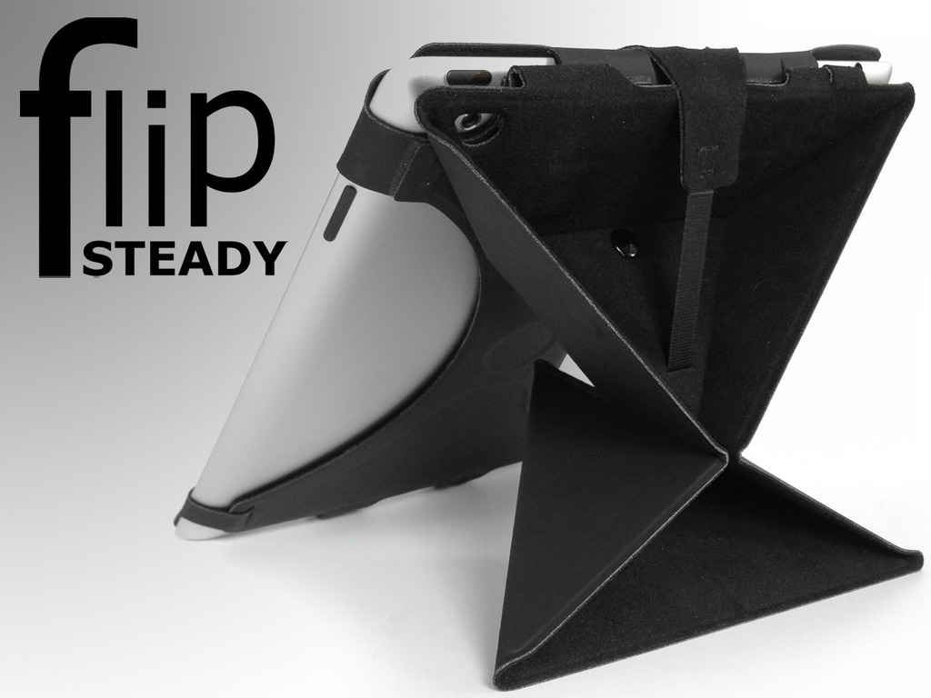 FlipSteady for iPad 2, The new iPad and Kindle Fire's video poster