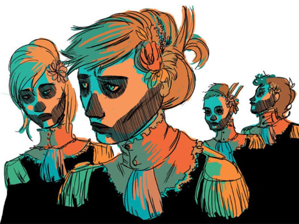 SNOWBIRD: a graphic novel's video poster