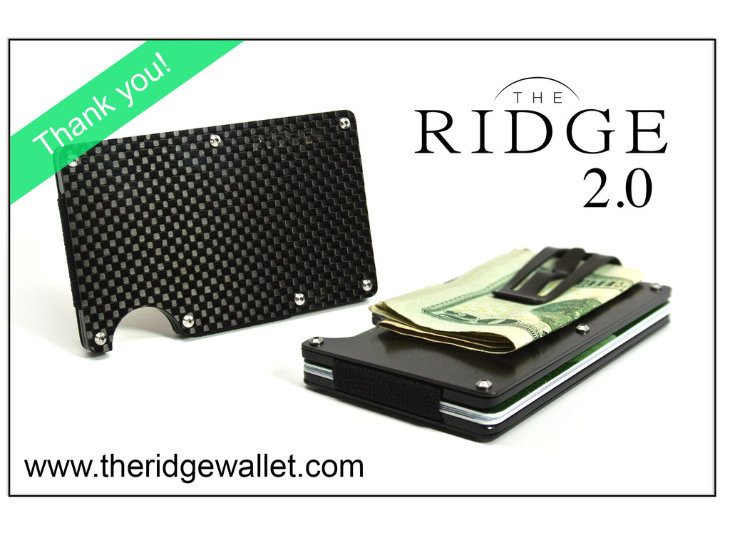 The Ridge Wallet 2.0's video poster