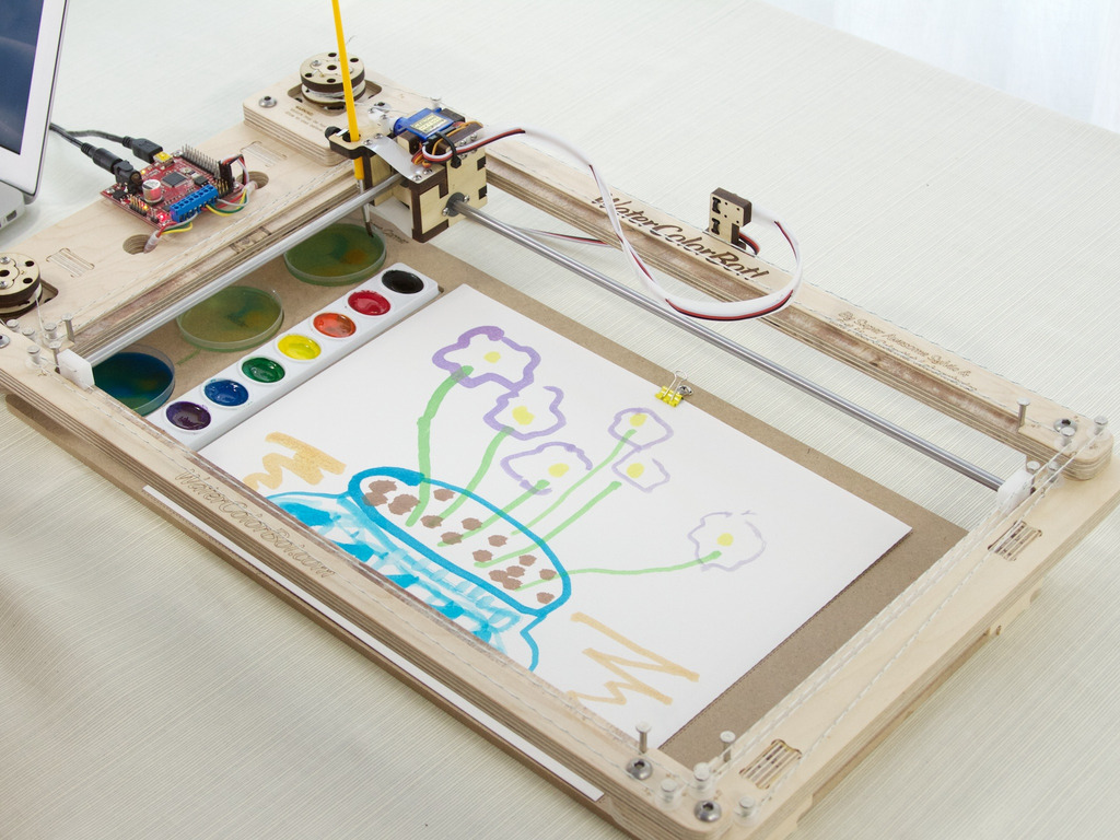 Super Awesome Sylvia's WaterColorBot's video poster