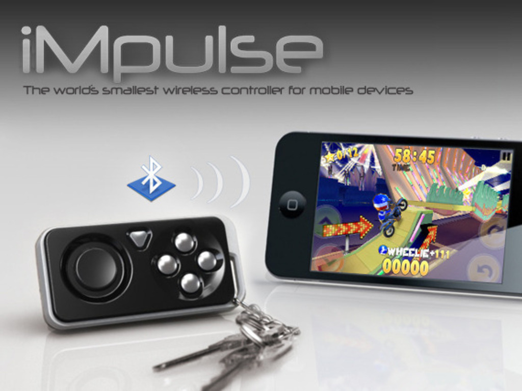 iMpulse Game Controller & Key Finder: Pocket Accessory's video poster