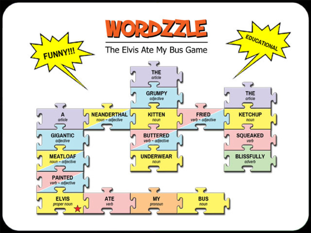 WORDZZLE, a nutty & educational wordplay game's video poster