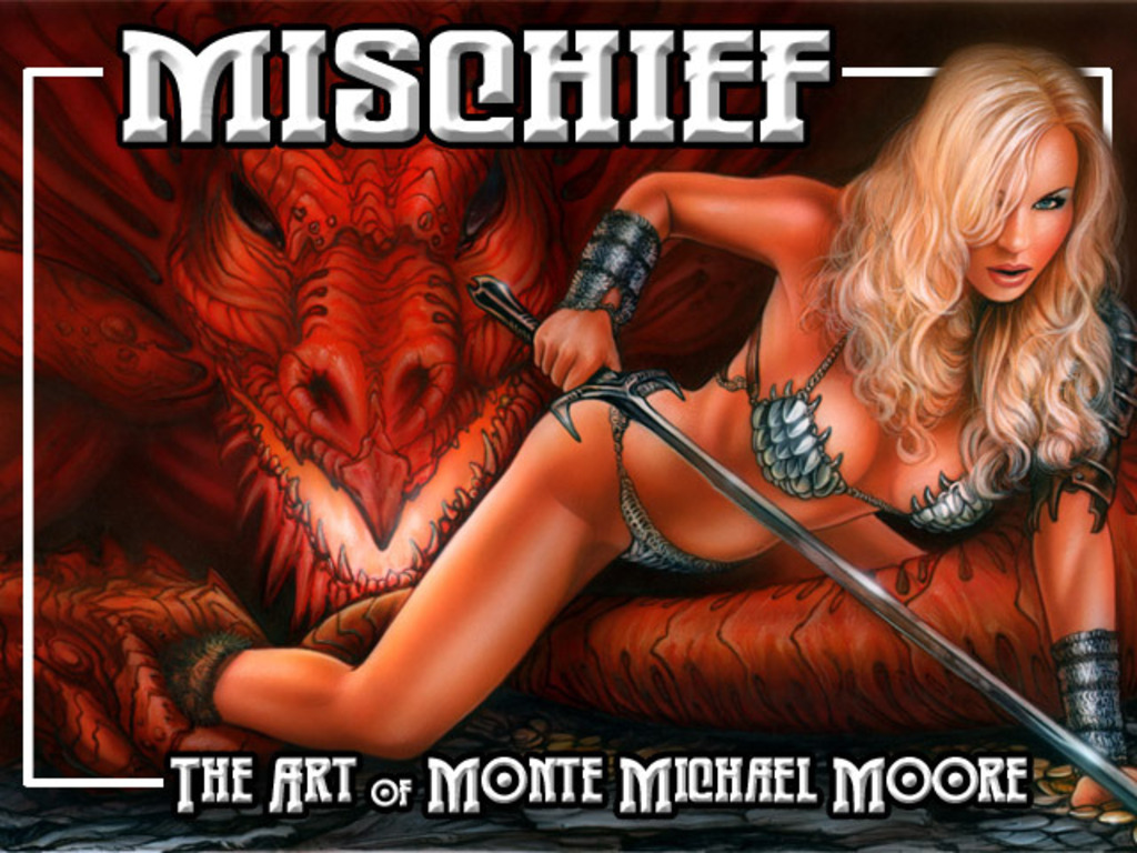 Mischief - The Art of Monte M. Moore's video poster