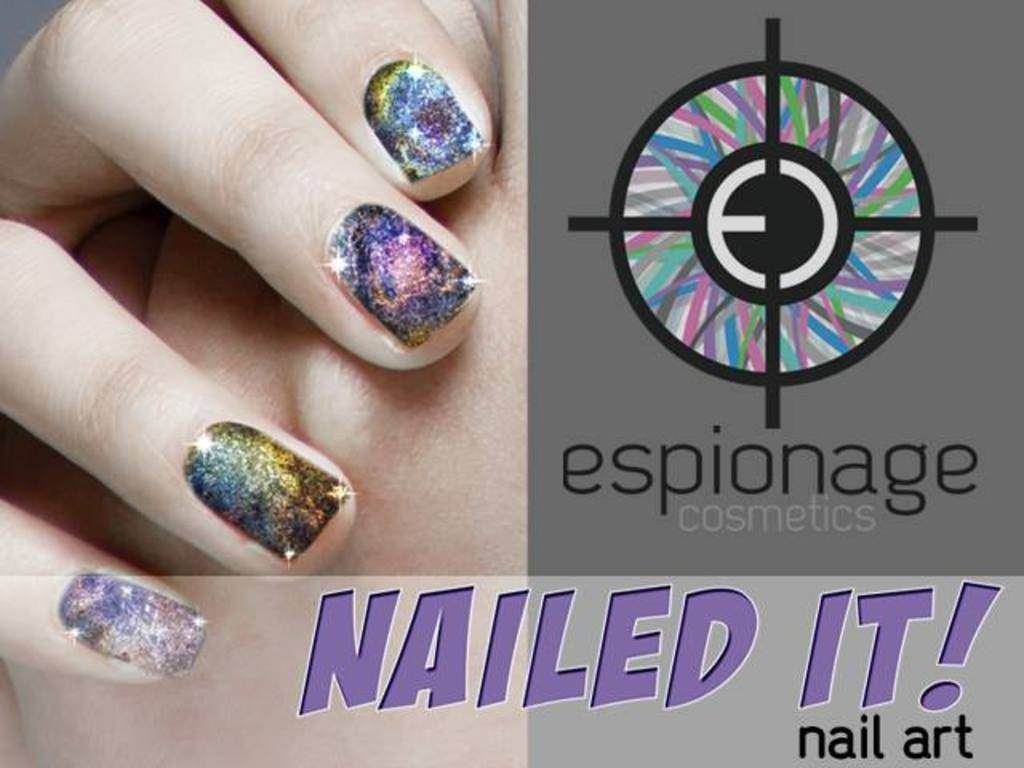 "Espionage Cosmetics ""NAILED IT!""'s video poster"