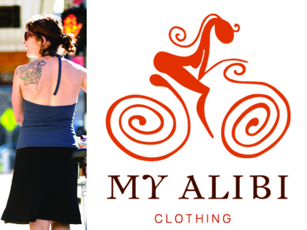 My Alibi Clothing-Active Apparel for Women riding Bikes's video poster