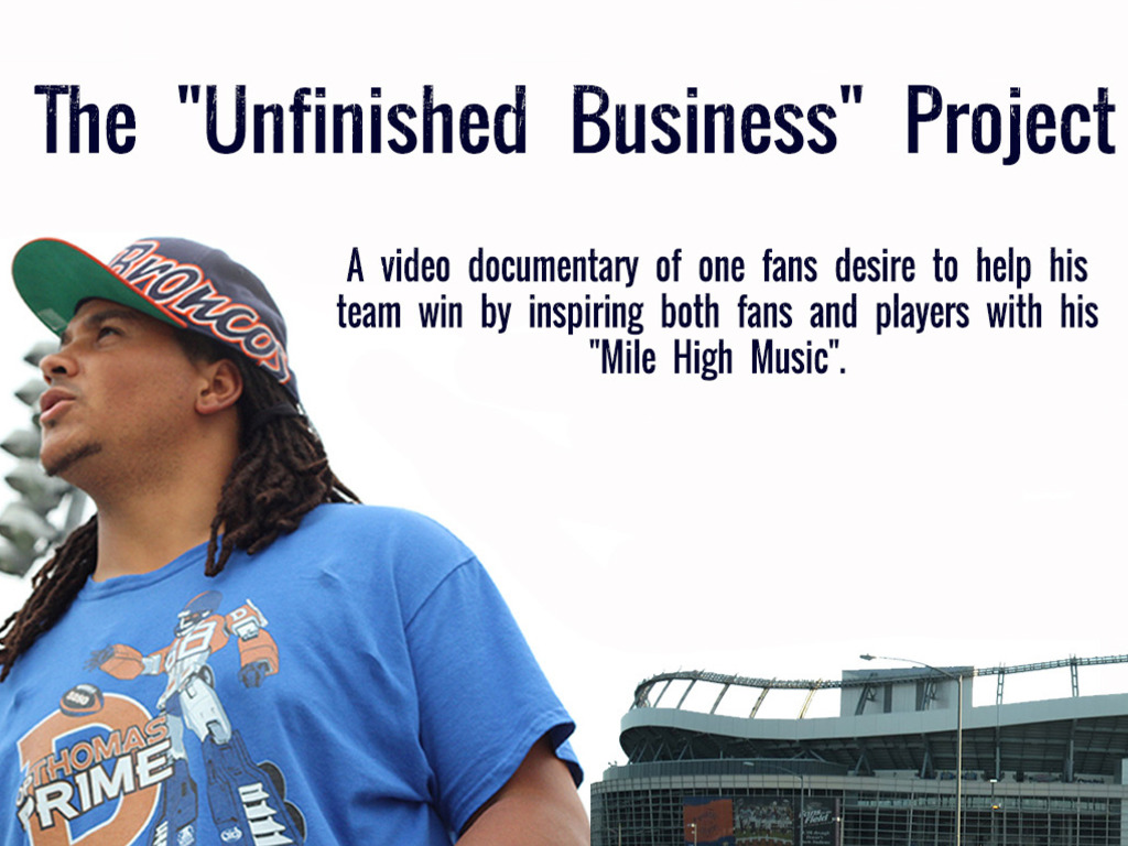 The Unfinished Business Project's video poster