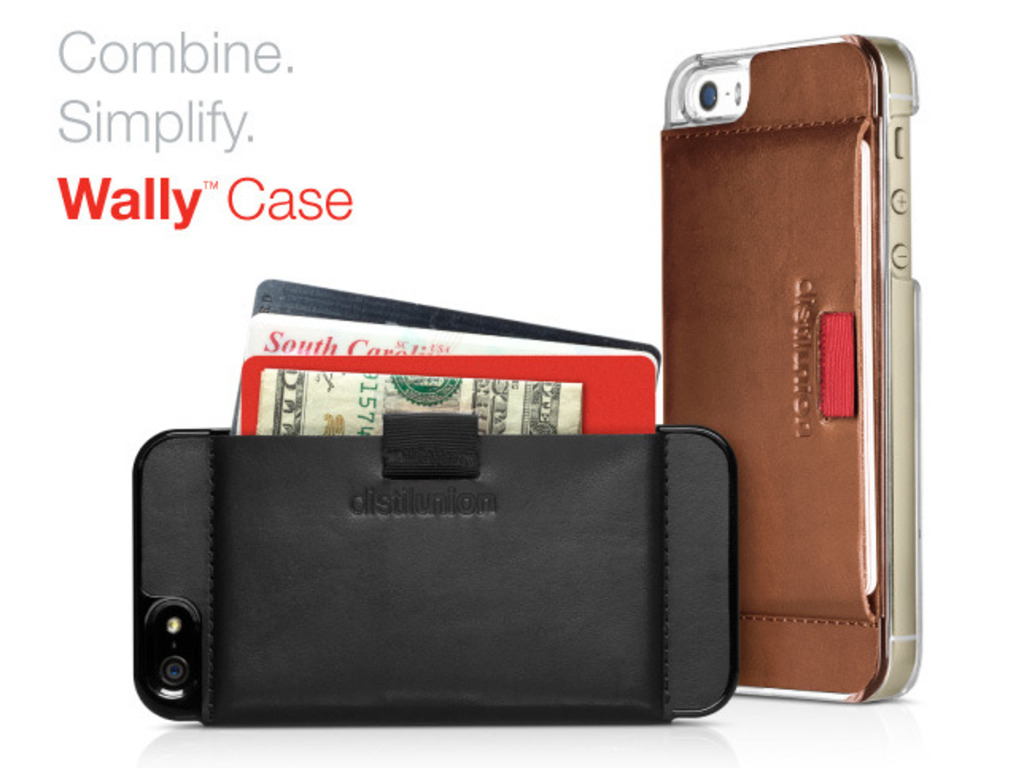 Wally Case = Minimal Leather Wallet + iPhone Protection's video poster